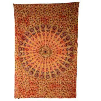 "Kunst und Magie Wandbehang ""Mandala"" Dekotuch Tagesdecke ca. 200 x 135 cm – Bild 6"
