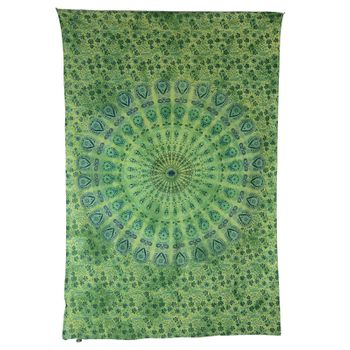 """Kunst und Magie Wall hanging """"Mandala""""  100 % cotton approx. 78.5 x 53 inch"""
