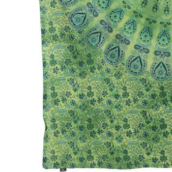 "Kunst und Magie Wall hanging ""Mandala""  100 % cotton approx. 78.5 x 53 inch – Bild 3"