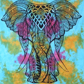 Kunst und Magie Wall hanging elephant approx. 88.5 x 78.5 inches – Bild 7
