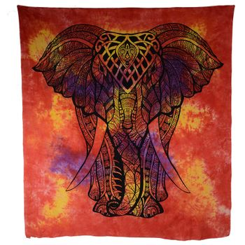 Kunst und Magie Wall hanging elephant approx. 88.5 x 78.5 inches – Bild 9