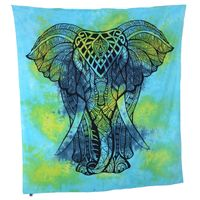 Kunst und Magie Wall hanging elephant approx. 88.5 x 78.5 inches 001