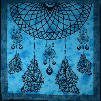 Kunst und Magie Wall hanging dream catcher approx. 90.5 x 81 inches – Bild 2