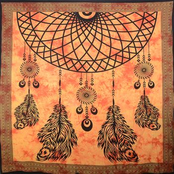 Kunst und Magie Wall hanging dream catcher approx. 90.5 x 81 inches – Bild 5