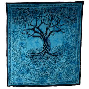 Kunst und Magie Wandbehang Keltischer Baum ca. 230 x 205 cm  – Bild 3