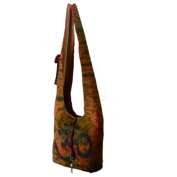 Kunst und Magie shoulder bag with colorful psy patterns – Bild 5