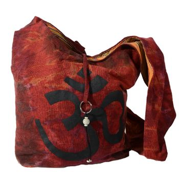 Kunst und Magie shoulder bag with colorful psy patterns – Bild 6