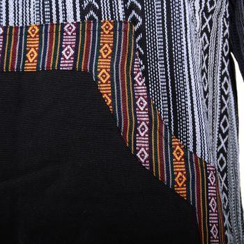 Kunst und Magie Herren Sweatshirt Poncho mit Fleecefutter und Kapuze UV Aktiv – Bild 11