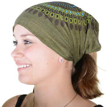 Kunst und Magie Stirnband Haarband Goa Mandala Hippie Kopftuch Haarband – Bild 2