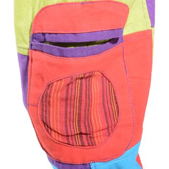 Kunst und Magie Colorful Unique Patschwork Kids Pants Hippie Goa – Bild 4