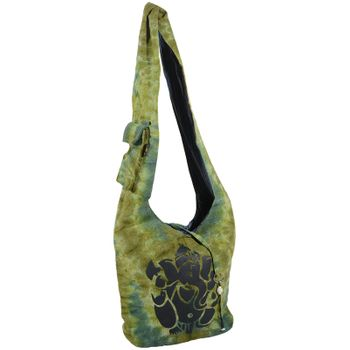 Kunst und Magie shoulder bag with colorful psy patterns – Bild 1