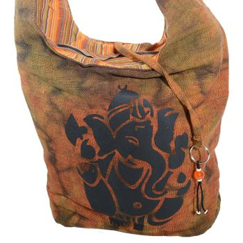 Kunst und Magie shoulder bag with colorful psy patterns – Bild 16