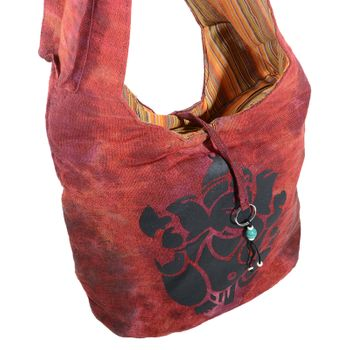 Kunst und Magie shoulder bag with colorful psy patterns – Bild 21