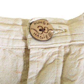 Kunst und Magie Herren Sommerhose aus Baumwolle mit Hornknopf – Bild 21