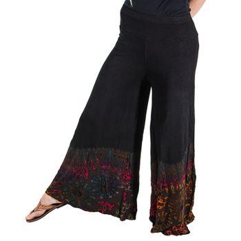 Kunst und Magie 70s Pants Tie Dye Batik  – Bild 1