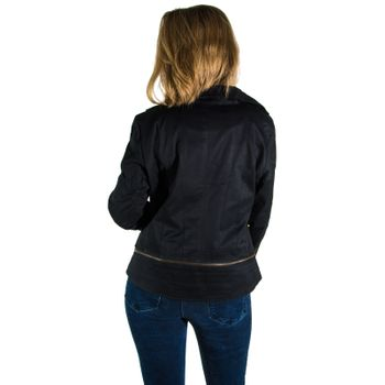 Kunst und Magie Ladies black  Bike Jacket – Bild 4