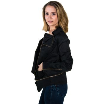 Kunst und Magie Ladies black  Bike Jacket – Bild 2