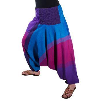 Kunst und Magie Unisex orientalische Yoga Freizeit Haremshose  – Bild 2