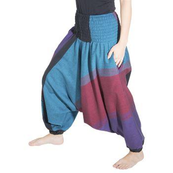 Kunst und Magie Unisex orientalische Yoga Freizeit Haremshose  – Bild 25