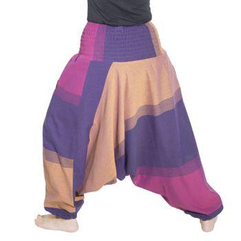 Kunst und Magie Unisex orientalische Yoga Freizeit Haremshose  – Bild 24