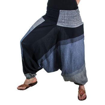 Kunst und Magie Unisex orientalische Yoga Freizeit Haremshose  – Bild 9