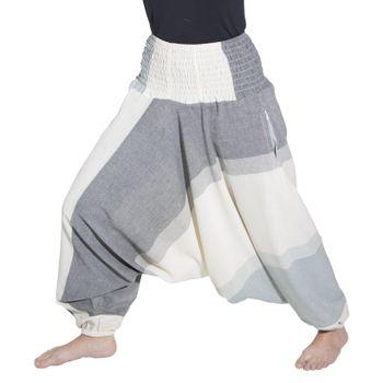 Kunst und Magie Unisex orientalische Yoga Freizeit Haremshose  – Bild 15