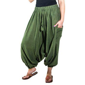 Kunst und Magie Lady Cotton Harem Pants with Victory Symbol – Bild 10