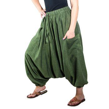 Kunst und Magie Lady Cotton Harem Pants with Victory Symbol – Bild 11