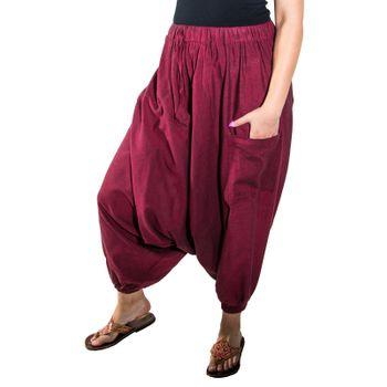 Kunst und Magie Lady Cotton Harem Pants with Victory Symbol – Bild 15