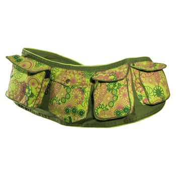 Kunst und Magie Goa Hippie Belly Bag Belt Bag Festival Bag – Bild 5