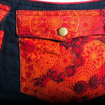 Kunst und Magie Goa Hippie Belly Bag Belt Bag Festival Bag – Bild 2