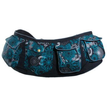 Kunst und Magie Goa Hippie Belly Bag Belt Bag Festival Bag – Bild 18