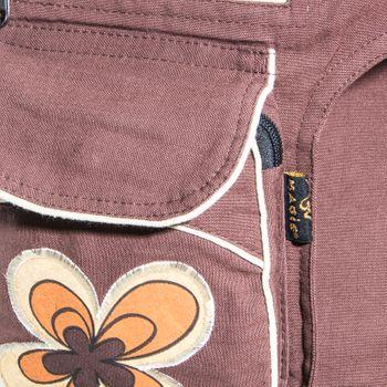 Kunst und Magie Double fanny pack Sidebag belt pouch pocket Festival Hippie Goa – Bild 8