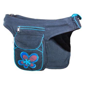 Kunst und Magie Double fanny pack Sidebag belt pouch pocket Festival Hippie Goa – Bild 16