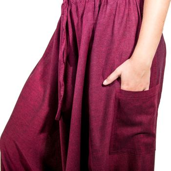 Kunst und Magie Lady Cotton Harem Pants with PeaceSymbol – Bild 16