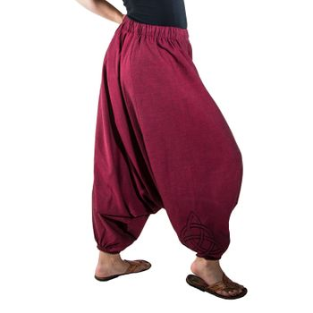 Kunst und Magie Lady Cotton Harem Pants with PeaceSymbol – Bild 15