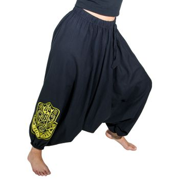 Kunst und Magie Lady Cotton Harem Pants with Hamsa  – Bild 21