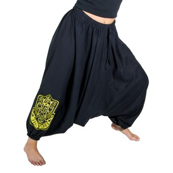Kunst und Magie Lady Cotton Harem Pants with Hamsa  – Bild 22