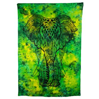 Kunst und Magie Wall Hanging The Elephant  79 x 53 inches – Bild 1