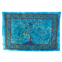 Kunst und Magie Wall hanging Tapestry  Tree of Life 100 % cotton approx. 78.5 x 53 inch 001