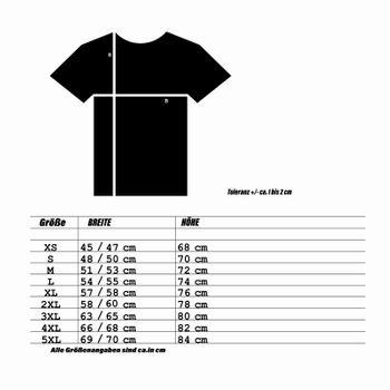"""Kunst und Magie Herren T-Shirt  mit Spruch """"Sonne macht albern"""" – Bild 6"""
