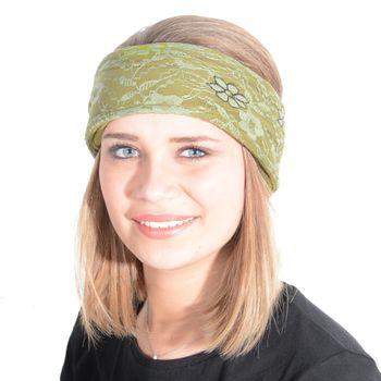Kunst und Magie Damen Flower Stirnband in verschiedene Farben – Bild 1