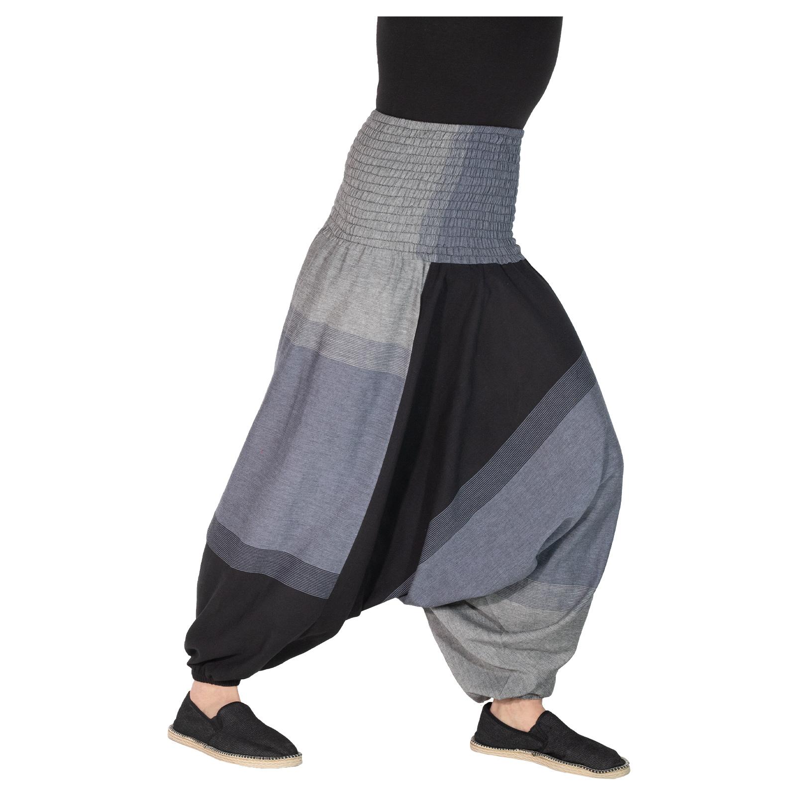 Kunst Und Magie Damen Bunt One Size Boho Yoga Haremshose Freizeithose Aladinhose Kunst Und Magie