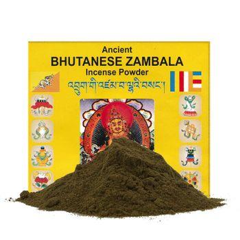 """Zambala Bhutanese Incense  Shamanisches Räucherwerk """" Glück und Wohlstand""""  aus dem Himalaya – Bild 1"""