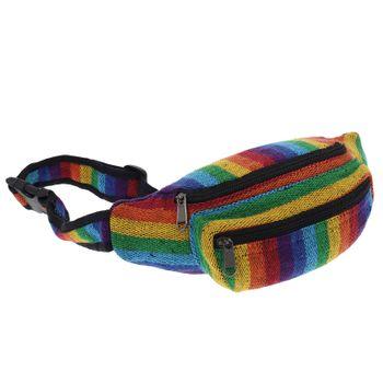 Goa Belt Bag OM-Symbol Fanny Pack Festival Bag – Bild 1