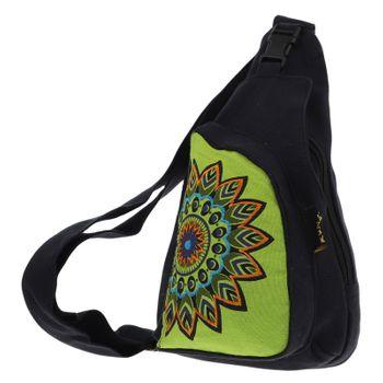 Kunst und Magie Goa Hippie Body Bag – Bild 12
