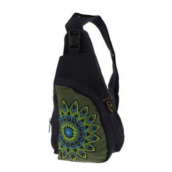 Kunst und Magie Goa Hippie Body Bag – Bild 8