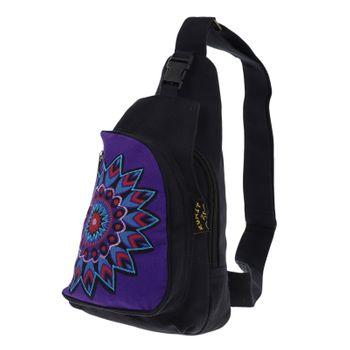 Kunst und Magie Goa Hippie Body Bag – Bild 2