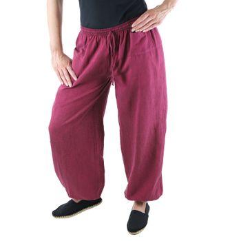 KUNST UND MAGIE Unisex colorful one size boho yoga bloomers summer pants harem pants – Bild 18