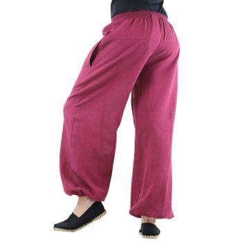 KUNST UND MAGIE Unisex colorful one size boho yoga bloomers summer pants harem pants – Bild 21